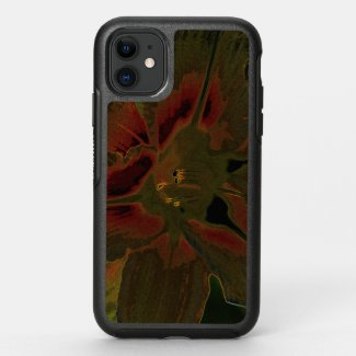 Asiatic lily NEON OtterBox Symmetry iPhone 11 Case