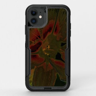 Asiatic lily NEON OtterBox Commuter iPhone 11 Case