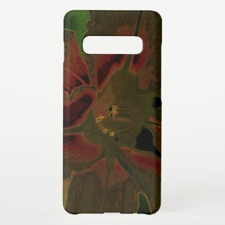 Asiatic lily NEON Samsung Galaxy S10+ Case