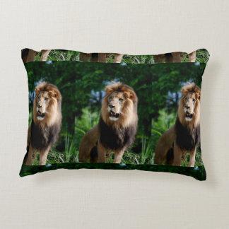 Asiatic Lion of Iran Decorative Pillow