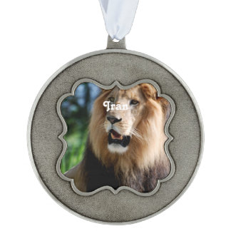 Asiatic Lion of Iran Ornament