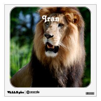 Asiatic Lion of Iran Wall Sticker