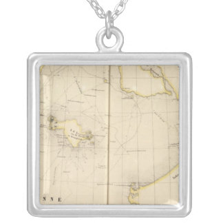 Asiatic Russia, Asia 20 Silver Plated Necklace