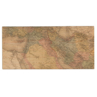 Asiatic Turkey and Persia Wood USB 2.0 Flash Drive