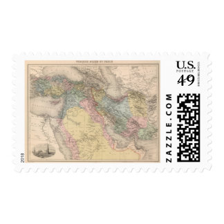 Asiatic Turkey and Persia Postage Stamp