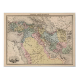 Asiatic Turkey and Persia Print