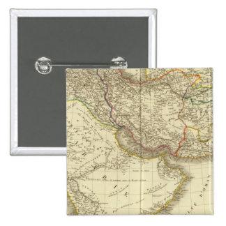 Asiatic Turkey, Persia, Arabia, Kabul Pinback Button
