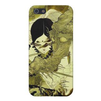 Asiático con el dragón iPhone 5 fundas
