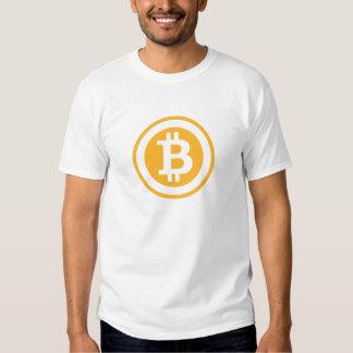 Asiduo de la camiseta de BitCoin Playeras