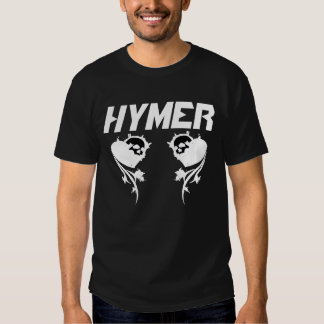 Asiduo negro de Hymer Poleras