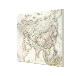 Asien - Asia Canvas Print