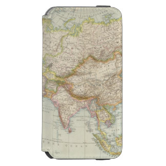 Asien - Map of Asia iPhone 6/6s Wallet Case