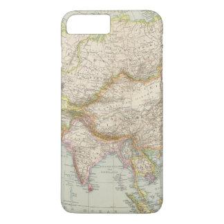 Asien - Map of Asia iPhone 8 Plus/7 Plus Case