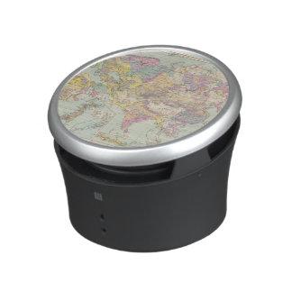 Asien u Europa - Atlas Map of Asia and Europe Bluetooth Speaker