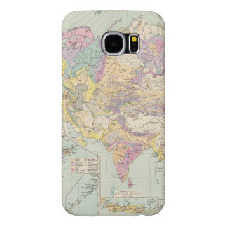 Asien u Europa - Atlas Map of Asia and Europe Samsung Galaxy S6 Case