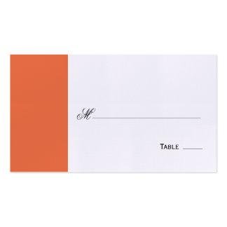 Asiento de la tabla de la escritura/tarjeta elegan plantilla de tarjeta de negocio