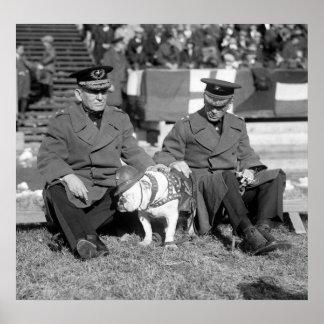 Asientos del blanqueador: 1925 póster