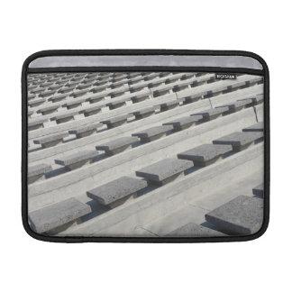 Asientos del cemento fundas MacBook