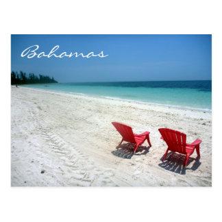 asientos magníficos de Bahamas Postales