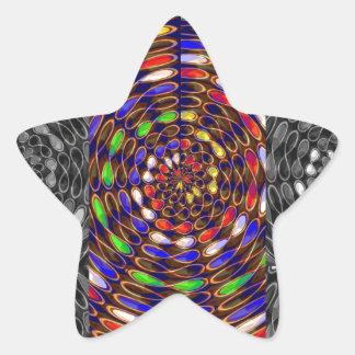 Asilo de DIOS del universo del cosmos de la Calcomanías Forma De Estrellas