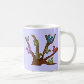 Asilo de la ardilla taza de café