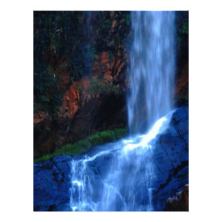 Asilo de la cascada membrete personalizado