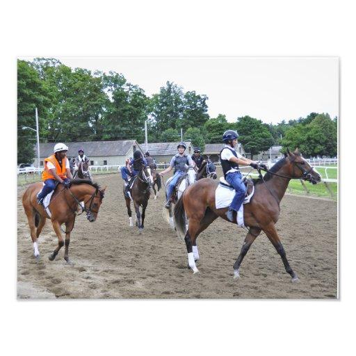 Asilo del caballo impresión fotográfica