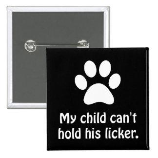 Asimiento Licker del mascota Pin Cuadrado