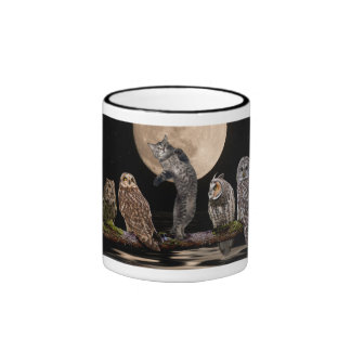 Asio dancing with the owls ringer mug