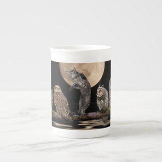 Asio dancing with the owls bone china mug