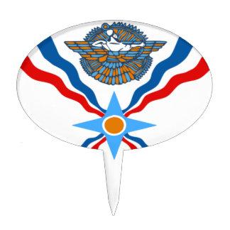 Asirio-Bandera Figuras Para Tartas