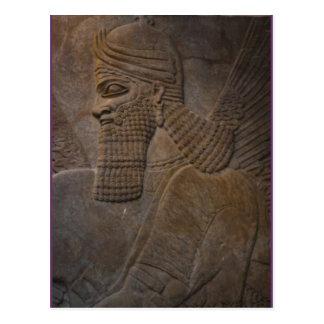 asirio en el frente postales