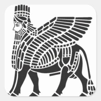 Asirio Lamassu Pegatinas
