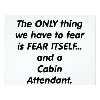 asistente de cabina del miedo anuncio personalizado