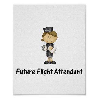 asistente de vuelo futuro poster