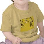 Asistente del autobús escolar camisetas