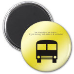 Asistente del autobús - un imán de la sonrisa de l
