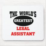 Asistente legal tapetes de raton