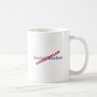 Asistente social/contrariedad taza clásica