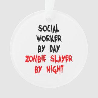 Asistente social del asesino del zombi