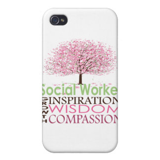 Asistente social iPhone 4 funda