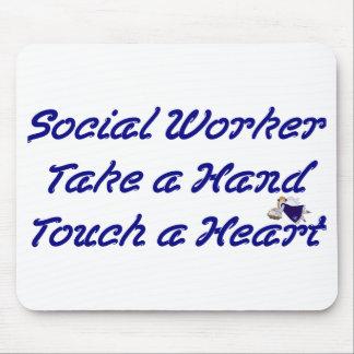 Asistente social Mousepad