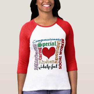 Asistente social camiseta