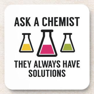 Ask A Chemist Beverage Coaster
