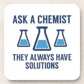Ask A Chemist Coaster