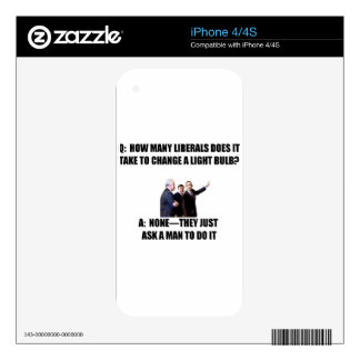 Ask a Man iPhone 4 Skins