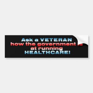 ask a veteran copy bumper sticker