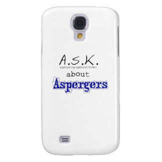ASK about Aspergers Galaxy S4 Case