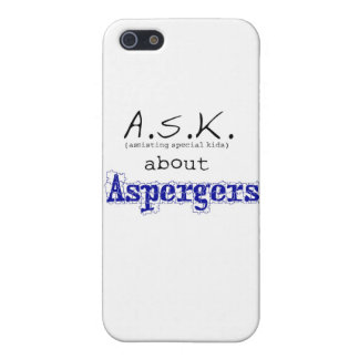 ASK about Aspergers iPhone SE/5/5s Cover