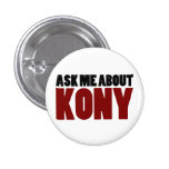 Ask About Kony 2012 Stop Joseph Kony Question 1 Inch Round Button